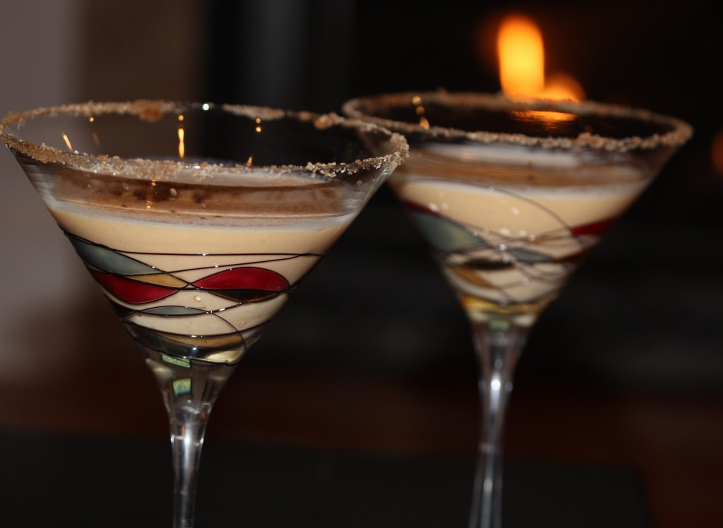 rumchata pumpkin martini